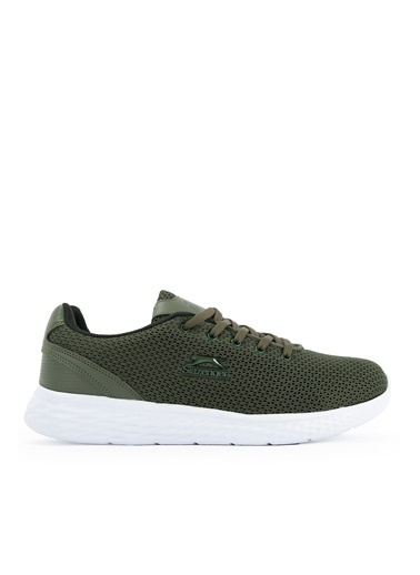 Slazenger Indıan Sneaker Unisex Ayakkabı Beyaz Haki